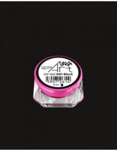 SemiArt UV Gel 001 Black