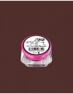 SemiArt UV Gel 005 Brown