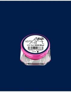SemiArt UV Gel 008 Blue