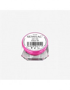 Gel constructor 01 SEMILAC UV GEL ONLY ONE CLEAR 5 ML