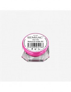 Gel constructor 02 SEMILAC UV GEL ONLY ONE NATURAL NUDE 5 ML