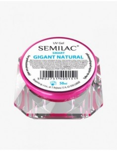 Gel constructor Semilac UV Gel Smart Gigant Natural 50 ml