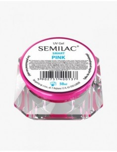 Gel constructor Semilac UV Gel Smart Pink 50 ml