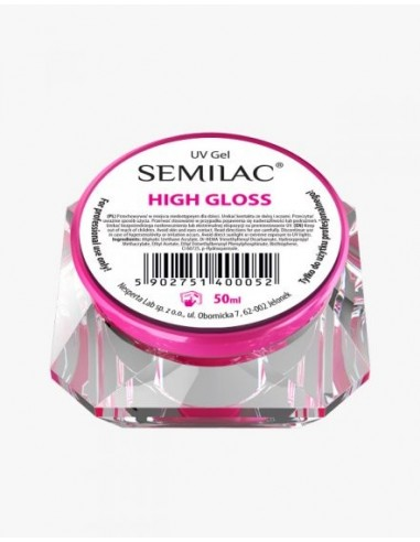 Semilac UV Gel High Gloss 50 ml