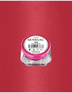 153 UV Gel Color Semilac Red Magnat 5ml