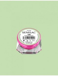168 UV Gel Color Semilac Fresh Pistachio 5ml