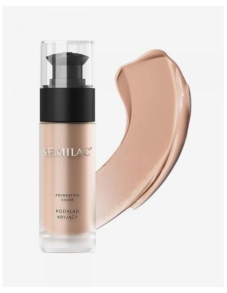Semilac Base de Maquillaje Cover 50 Golden Tan - Tienda Semilac
