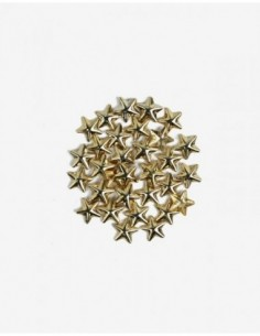 760 Decoraciones Semilac Gold Big Stars 50 unidades