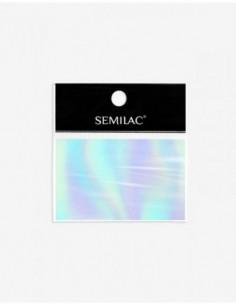 745 Decoraciones Semilac Foil Silver