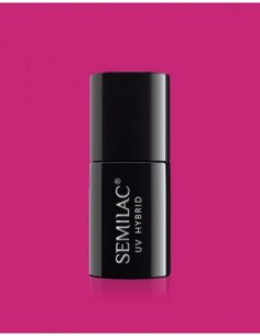 007 Esmalte semipermanente Semilac Pink Rock 7ml