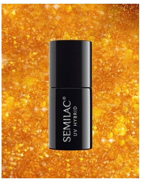 142 Esmalte semipermanente Semilac Royal Gold 7ml