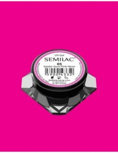Semilac Gel para Decoraciones Spiders Gum 05 Pink Neon
