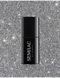 259 Esmalte semipermanente Semilac Platinum Silver 7ml