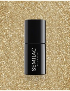260 Esmalte semipermanente Semilac Platinum Light Gold 7ml