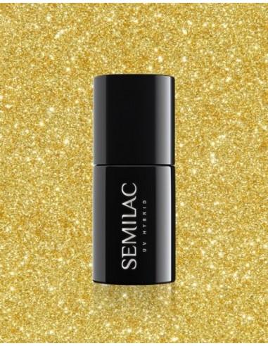 261 Esmalte semipermanente Semilac Platinum Yellow Gold 7ml