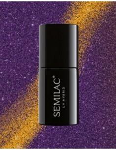 315 Esmalte semipermanente Semilac MAGIC CAT EYE Violet 7ml