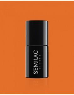 528 Esmalte semipermanente Semilac Legendary Six by Margaret Orange 7ml