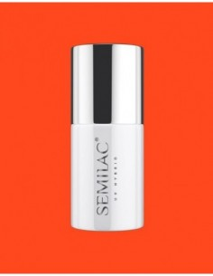 554 Esmalte Semipermanente Semilac Super Cover Loud Mandarine 7ml