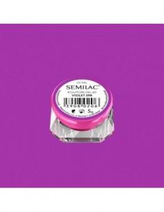598 Semilac Sculpture Gel 4D Violet 5g