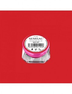 597 Semilac Sculpture Gel 4D Red 5g
