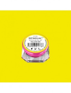 595 Semilac Sculpture Gel 4D Yellow 5g