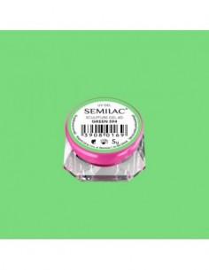 594 Semilac Sculpture Gel 4D Green 5g