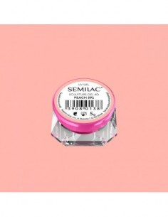 591 Semilac Sculpture Gel 4D Peach 5g